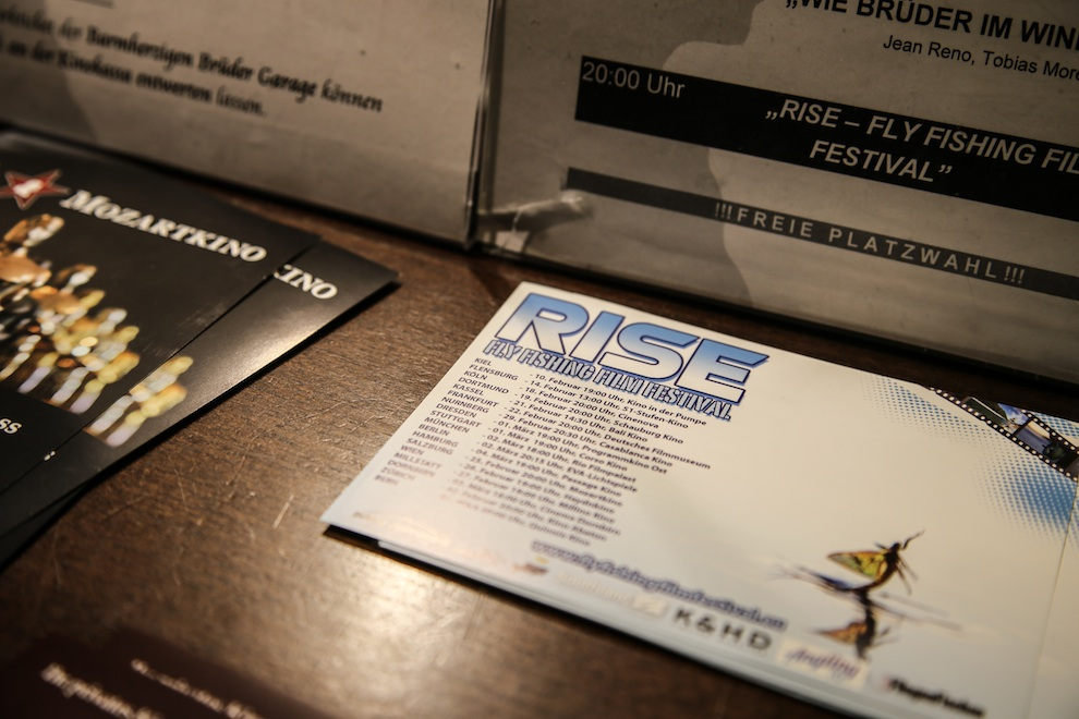 Presse rise fly fishing film festival for Fly fishing film festival